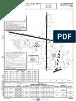 Fabl_aerodrome Chart Bloemfontein, Free State, SA