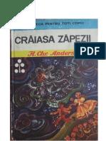 Povești Și Nuvele-1974 32 Hans Christian Andersen- Craiasa Zapezii