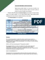 Formulas en Funciones Lógicos en Excel