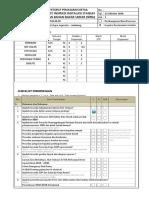 Checklist Inspeksi SPBU 2018