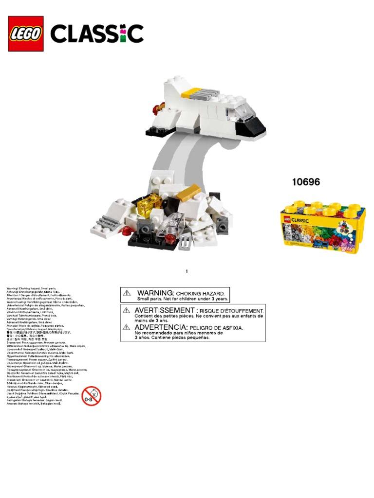LEGO Classic 10696 Medium Creative Brick Box Building