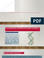 3.1.2 Anomalías Causadas Por Genes Mutantes Diapos