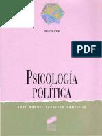 Aspectos Conceptuales Psicologia Politica Sabucedo. Capítulo 1