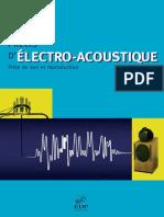 Précis d'Électro Acoustique