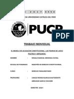 Trabajo Monográfico Derecho Parlamentario
