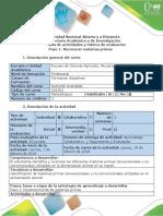 Guia de actividades y rubrica de evaluación - Paso 1 - Reconocimiento previos