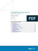 Docu91191 PowerPath VE for VMware VSphere 6.4 and Minor Releases Release Notes