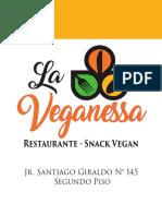 cARTA-menu vegan