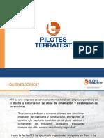 Pilotes Terratest Perú - Presentación 2016 (1)