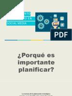 Social Media Plan - SESION I-1