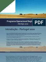 Programa Operacional Região Alentejo 2020