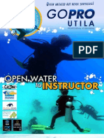 Information about the content of PADI scuba diving courses, from Open Water, to PADI Divemaster and PADI Instructor