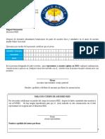 Carta Para La Certificacion Del Lider Representante de Su Iglesia en RED
