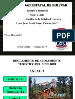 Anexo 3 Hosteria - Hacienda Turistica - Lodge