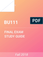 BU111 Study Guide - Comprehensive Final Exam Guide - Pest Analysis, Ikea, Business EthicsPremium