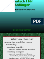 Articles Deutsch