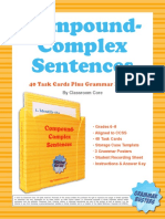 3 Compound-Complex Sentences by Classroom Core(1)