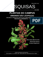 Botânica = Plantas do Campus Unisinos São Leopoldo