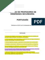 PES Portugues
