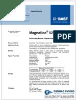 136005666 Chemicals Zetag DATA Powder Magnafloc 5250 0410