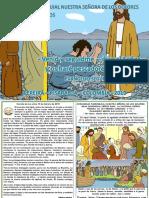 HOJITA EVANGELIO NIÑOS DOMINGO V TO C 19 COLOR