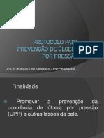 2018-10 Cb Protocolo Para Prevenção de Úlcera Por Pressão