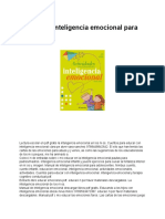 Manual de Inteligencia Emocional Para Niños PDF - Documentos de Google