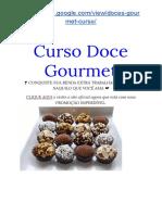 Curso Doce Gourmet Funciona