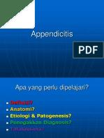 Appendicitis Kuliah 24 Mei 16.ppt