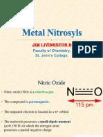 metal nitrosyls.ppt