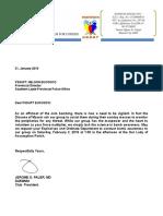 Letter for Pnp
