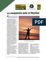 Carlos de la Rosa Vidal - La Respuesta ante el Destino