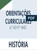 Orientações Curriculares - História - 6º Ao 9º Ano