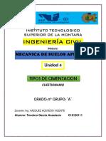 Ejercicios de Geotecnia II Mecánica de Suelos