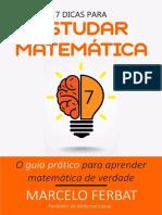 7 Dicas Para Estudar Matemática
