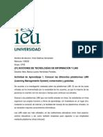 Actividad de Aprendizaje 1. Conocer Las Diferentes Plataformas LMS (Learning Management System) Comerciales y Gratuitas.