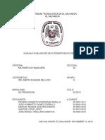 GUIA 4 MATEMATICA FINANCIERA UTEC.