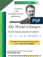 Chapter 1.1 Fundamental Properties