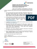 Pengumuman Pendaftaran SKT Online
