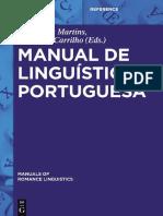 Manual de Linguistica Portuguesa