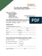 The Production Design Application Copy