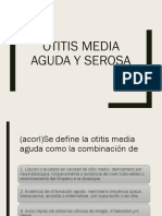 Otitis Media Aguda y Serosa