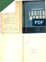 Jacques Maritain - Lógica Menor (pt)