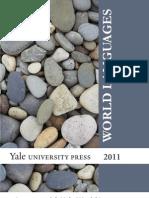 Yale University Press World Languages 2011