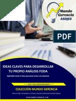 Ideas claves para desarrollar tu propio análisis FODA