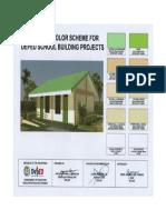 Deped Standard Color Scheme for School Building