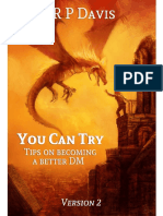 D&D5e - You Can Try - Tips on Becoming a Better DM v2