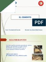Clase Tc - 03 - El Cemento