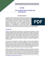 Informe Del Riesgo País -MEF
