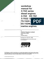 Perkins 3152 Engine Manual